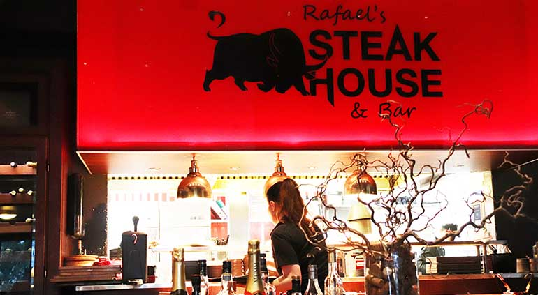 Rafael`s Steak House in Porvoo.