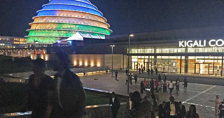 Kigali International Convention Center: Ruanda ist auf Platz Zwei als MICE-Standort in Afrika.