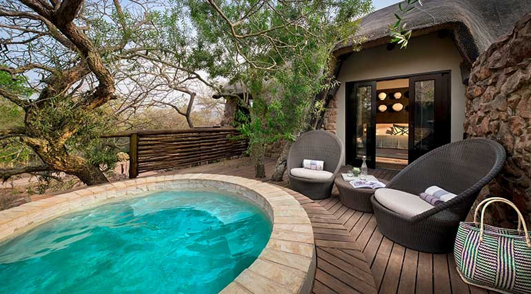 Phinda Mountain Lodge Family Cottage.