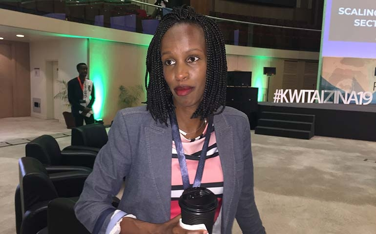 DER KULINARIKER trifft: Belise Kariza (Rwanda's chief tourism officer)